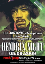 Jimi Hendrix Night mit Uli Jon Roth & Friends am 05. Septmber 2009 im rocknpopmuseum