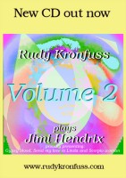 Rudy Kronfuss plays Jimi Hendrix Volume 2