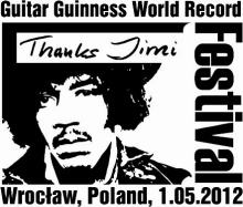 Thanks Jimi Festival and Guitar Guinness World Record