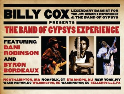 Billy Cox Tour