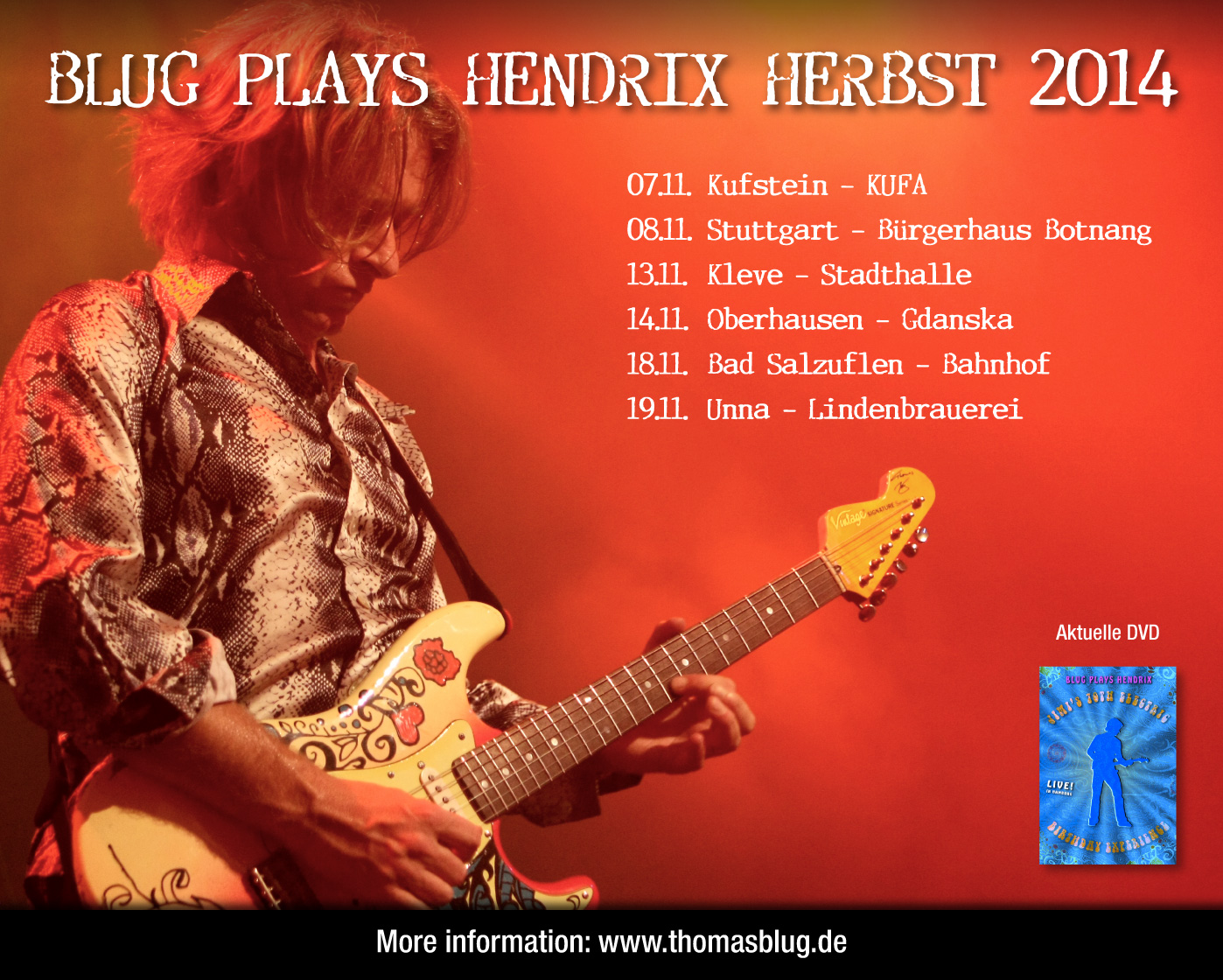 Jimi Hendrix and Tribute News Archiv 2014