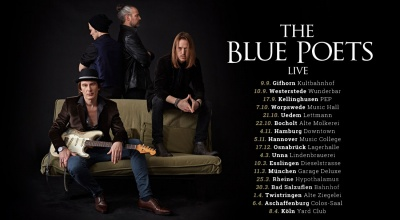 THE BLUE POETS live on Tour