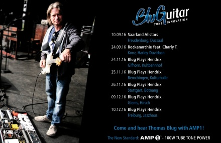 Blug Tour Dates