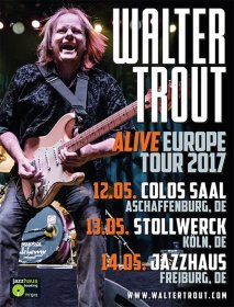 WALTER TROUT (USA) alive tour 2016