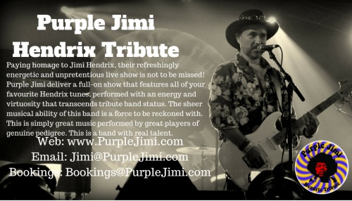 PURPLE JIMI - HENDRIX TRIBUTE