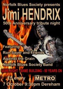 imi Hendrix Experience played at the Wellington Club
