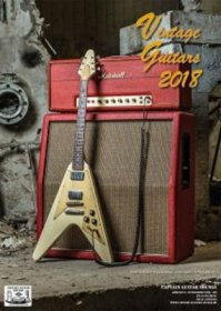 Captain Vintage Guitars - Kalender 2018