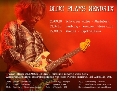 Blug plays Hendrix