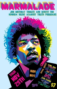 Hendrix Birthday Tributes