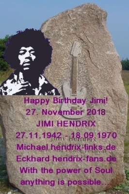 Happy birthday Jimi