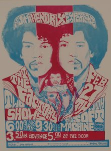 Jimi Hendrix Experience in Madison
