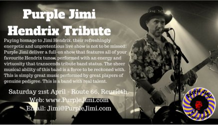 Purple Jimi Routre66