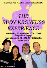 Rudy Kronfuss Experience
