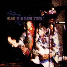 THE JIMI HENDRIX EXPERIENCE: LIVE IN PARIS & OTTAWA 1968